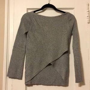 Zara Knit Sweater with Criss Cross Crop Back